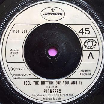 Pioneers-Feel the rhythm-UK Mercury E+