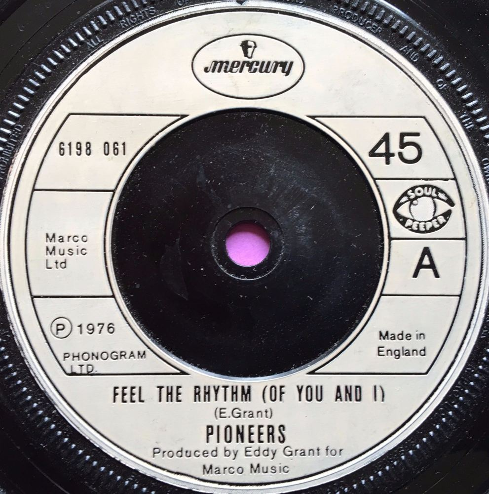 Pioneers-Feel the rhythm-UK Mercury E+