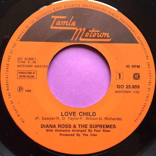 Supremes-Love child-Dutch Tamla Motown E+