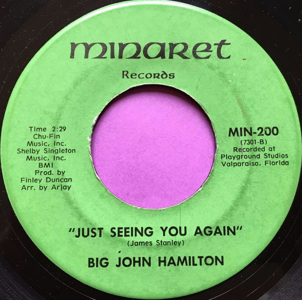 Big John Hamilton-Just seeing you again-Minaret E