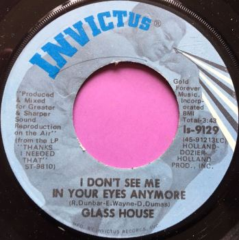 Glass House-I don`t see me in your eyes anymore-Invictus wrp E+
