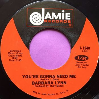 Barbara Lynn-You`re gonna need me-Jamie E+