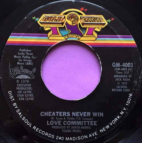 Love Committee-Cheaters never win-Gold mind E+