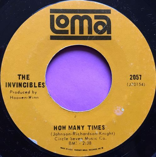 Invincibles-How many times-Loma E+