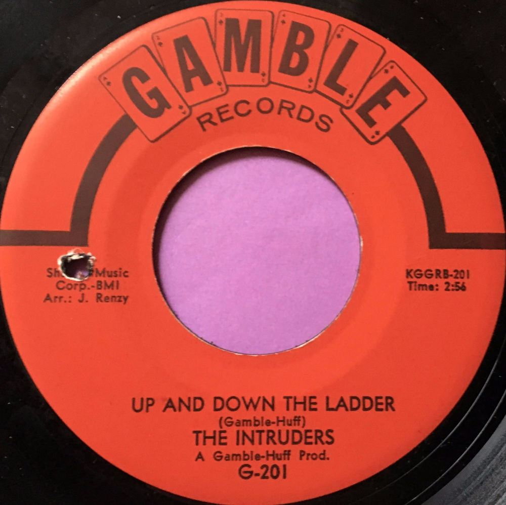 Intruders-Up and down the ladder-Gamble E
