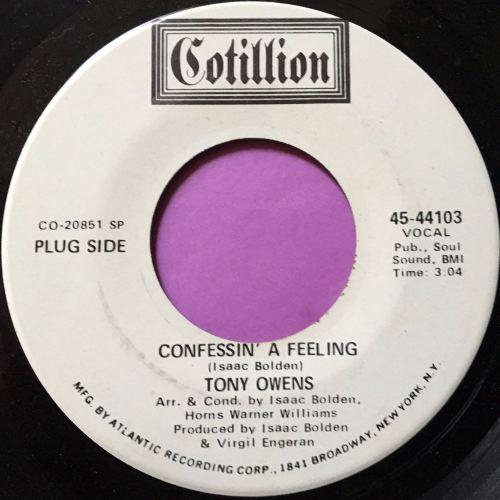 Tony Owens-Confessin' a feeling-Cotillion WD E+