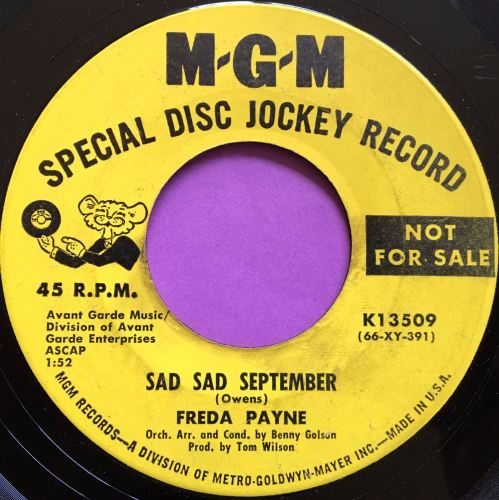 Freda Payne-Sad sad September-MGM E
