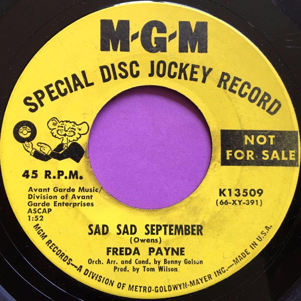 Freda Payne-Sad sad September-MGM E