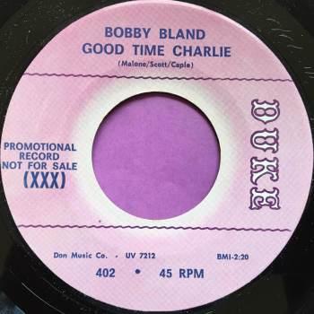 Bobby Bland-Good time Charlie-Duke demo M-