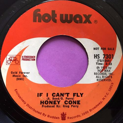 Honey Cone-If I can`t fly-Hotwax E