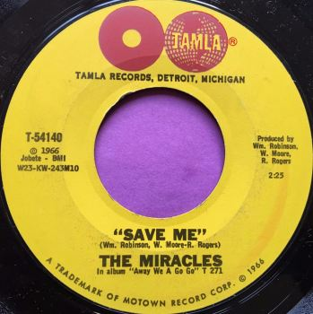 Miracles-Save me-Tamla E+
