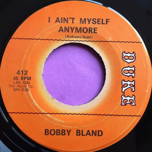 Bobby Bland-I ain`t myself anymore-Duke E+
