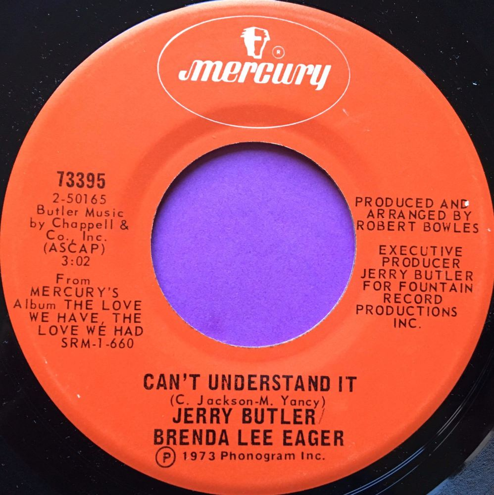 Jerry Butler/Brenda Lee Eager-Can`t understand it-Mercury E+