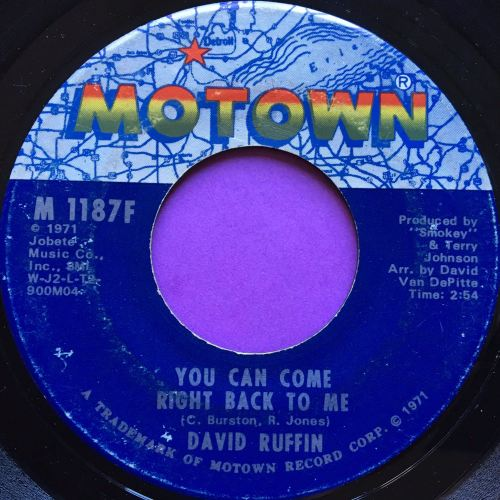 David Ruffin-You can come right back to me-Motown E