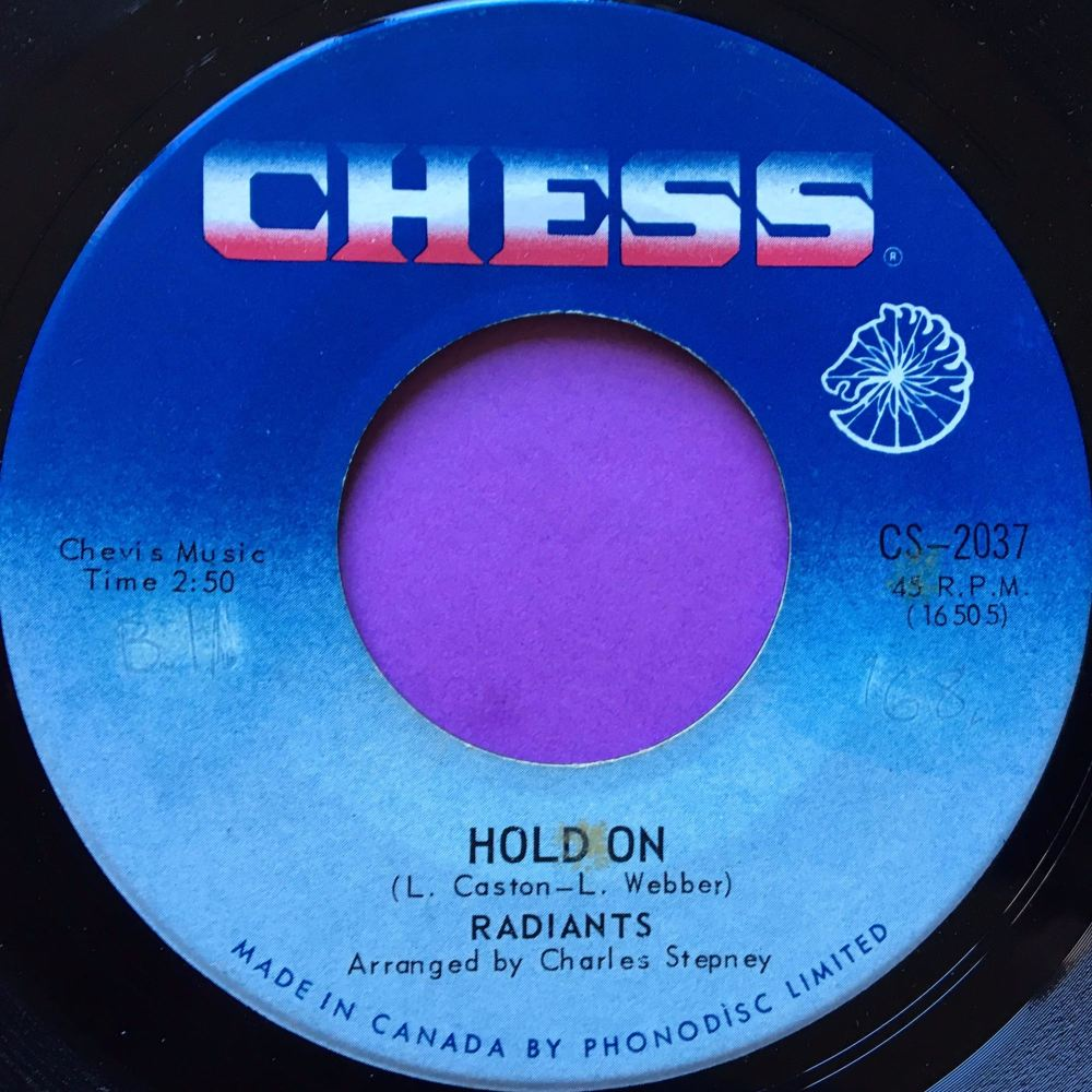 Radiants-Hold on-Canadian Chess E+