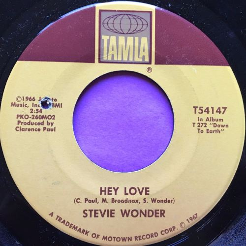 Stevie Wonder-Hey love-Tamla M-