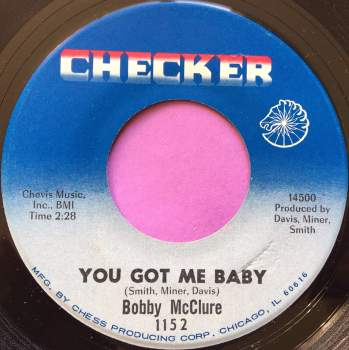 Bobby McClure-You got me baby-Checker E+