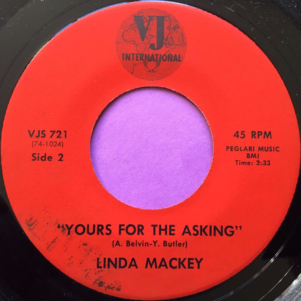 Linda Mackay-Yours for the asking-VJ International E+