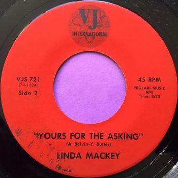 Linda Mackay-Yours for the asking-VJ International E+