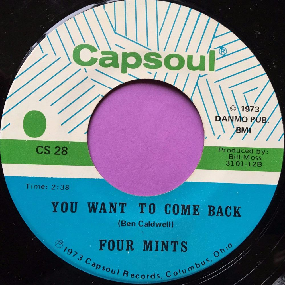 Four Mints-You want to come back-Capsoul E+