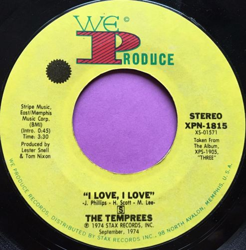 Temprees-I love, I love-We produce E