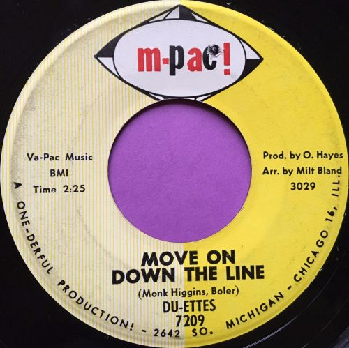 Du-ettes-Move on down the line-M-Pac E+