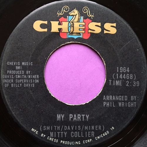 Mitty Collier-I'm satisfied-Chess E