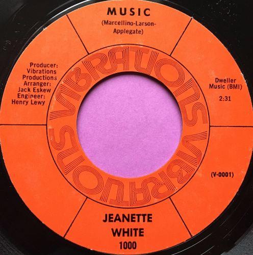 Jeanette White-Music-Vibrations E+