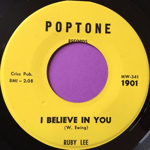 Ruby Lee-I believe in you-Poptone E+