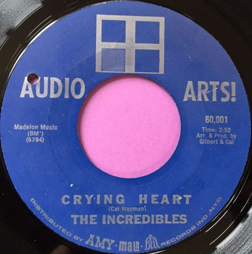 Incredibles-Crying heart-Audio arts E+
