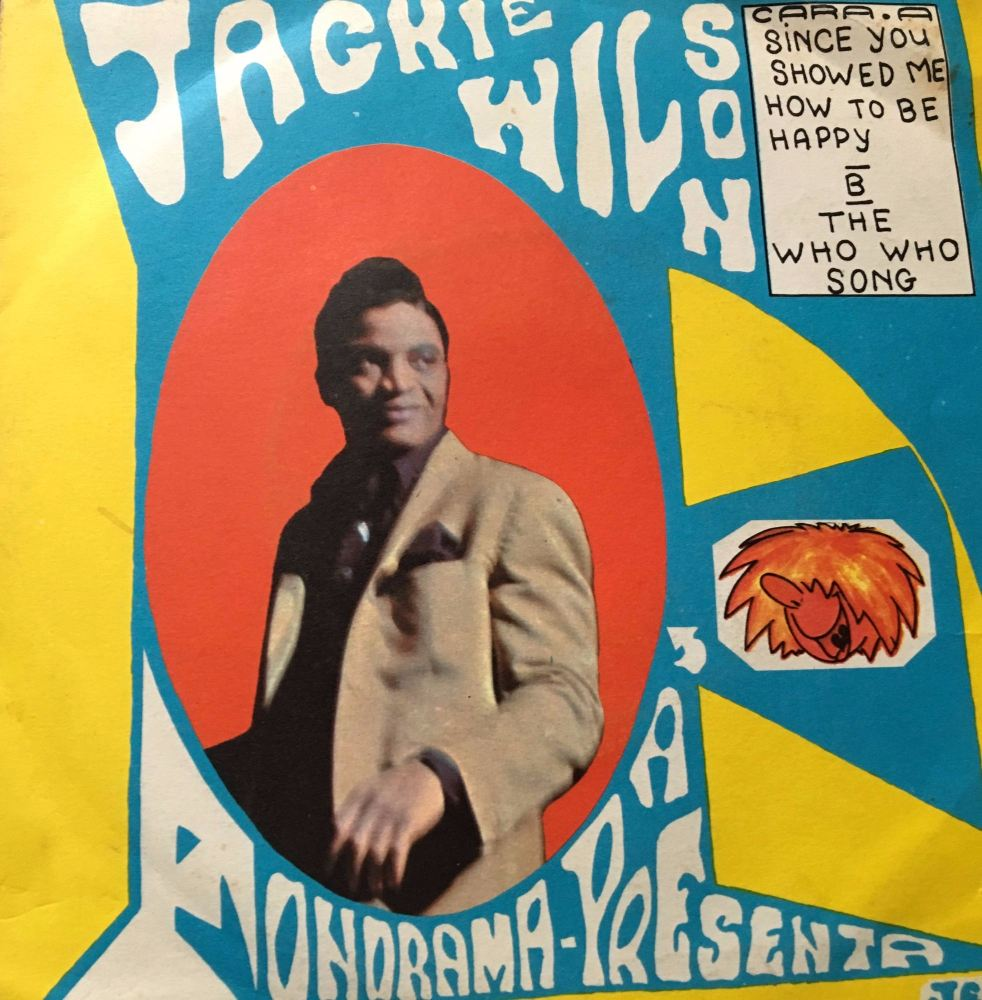 Jackie Wilson-The who who song/Since You showed me-Spanish Decca PS E+