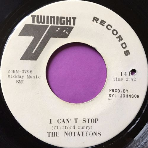 Notations-I can't stop-Twinight WD E