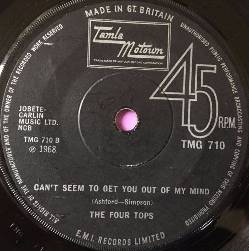 Four Tops-Can't seem to get you out of my mind-TMG E+