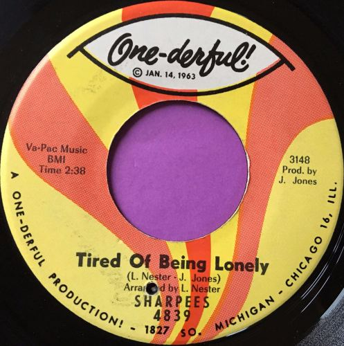 Sharpees-Tired of being lonely-Onederful E+