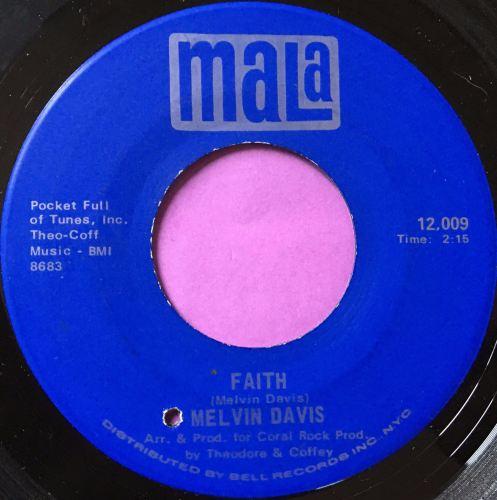 Melvin Davis-faith-Mala E+