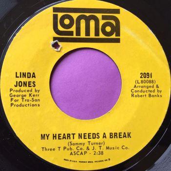 Linda Jones-My heart needs a break-Loma E+