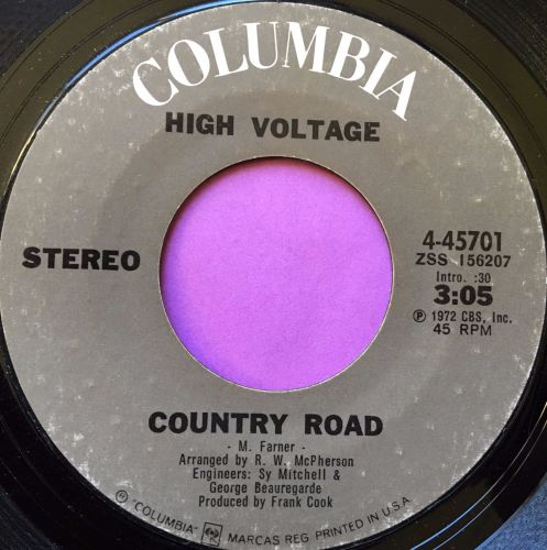 High Voltage-Country Road-Columbia E+