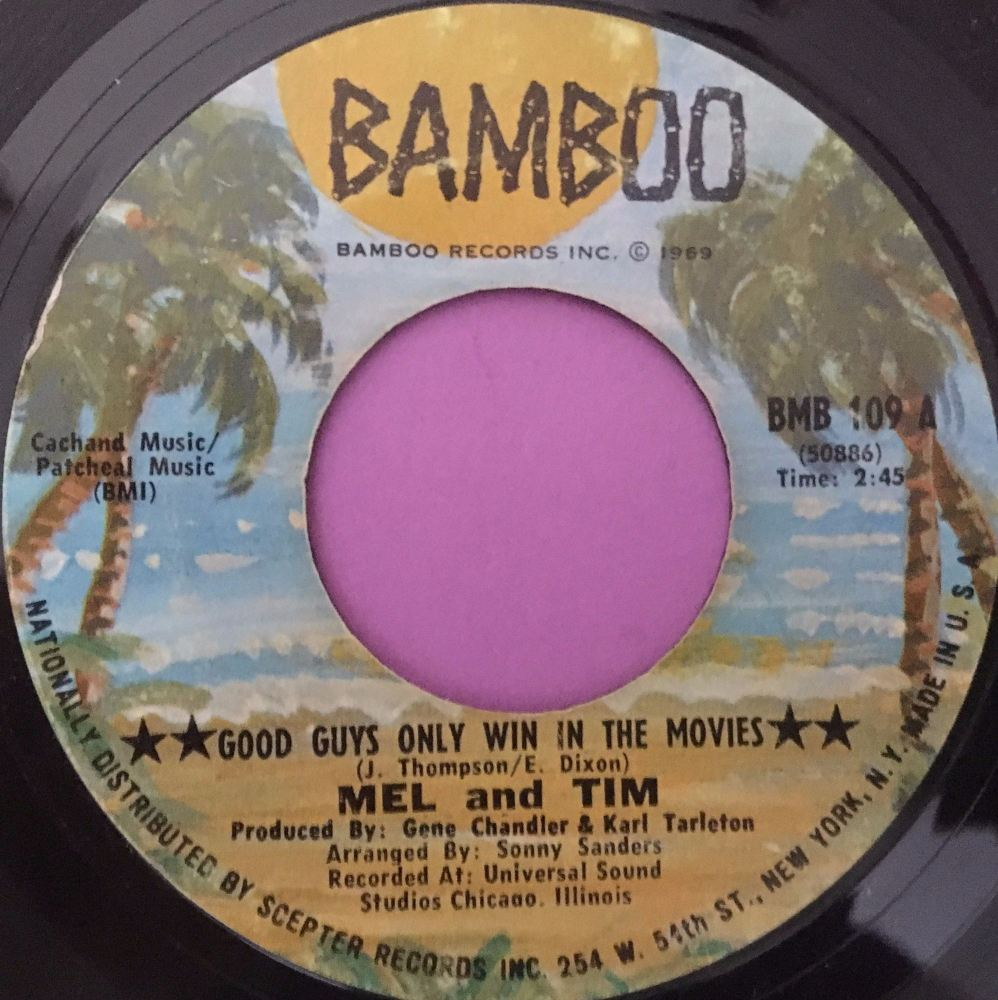 Mel and Tim-Good guys only win in the movies-Bamboo E+
