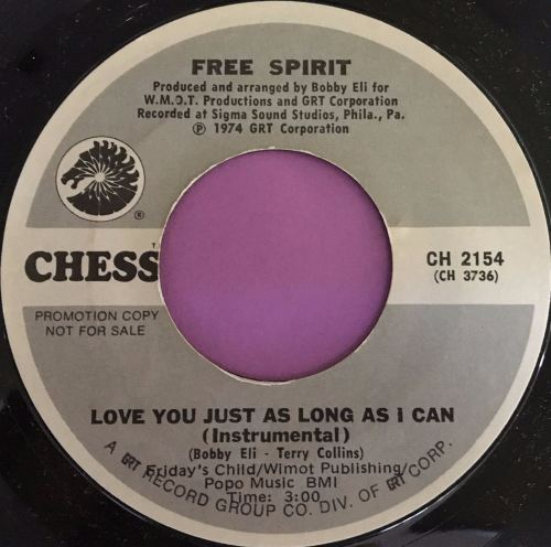 Free Spirit-Love you just as long as I can-Chess WD E+