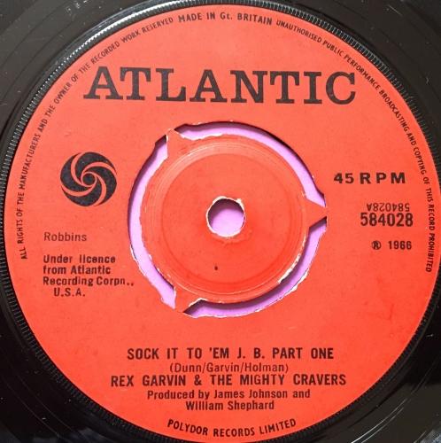 Rex Garvin- Sock it to 'em J.B-UK Atlantic E