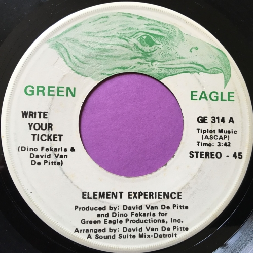 Element Experience-Write your ticket-Green eagle E+