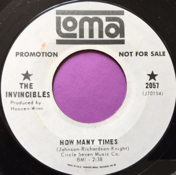 Invincibles-How many times-Loma WD E+