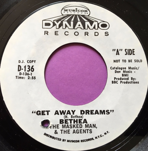 Betha and the Agents-Get away dreams-Dynamo E+