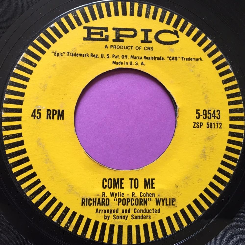 Richard Popcorn Wylie-Come to me-Epic E-