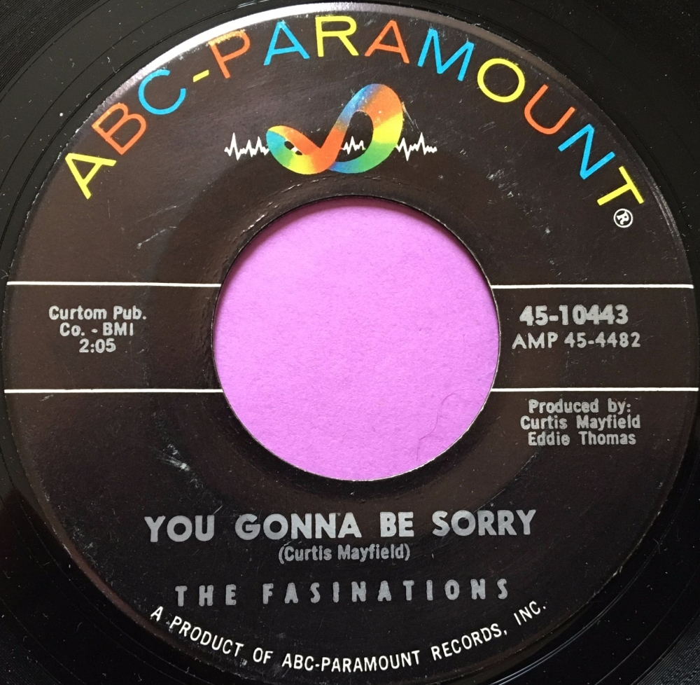 Fasinations-You gonna be sorry-ABC E+