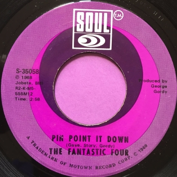 Fantastic Four-Pin point it down-Soul E+