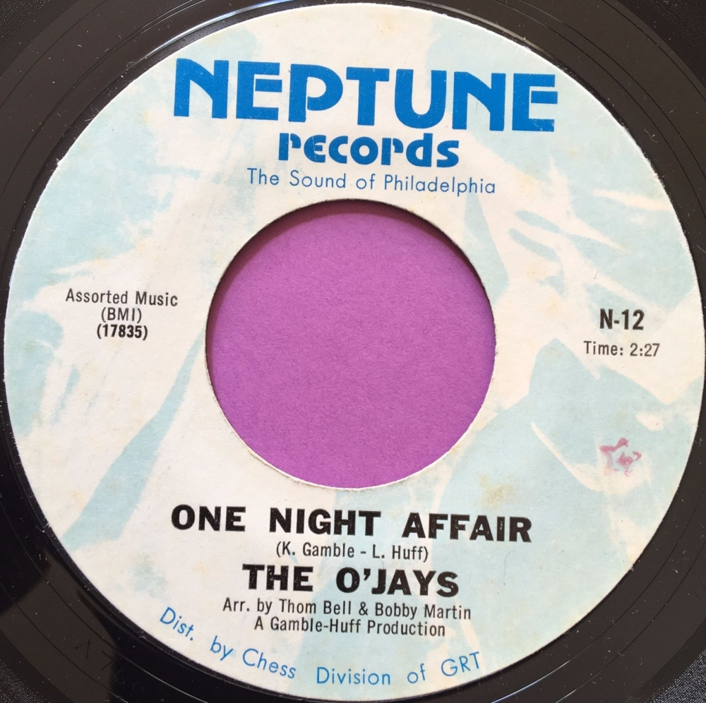 O'Jays-One night affair-Neptune E+