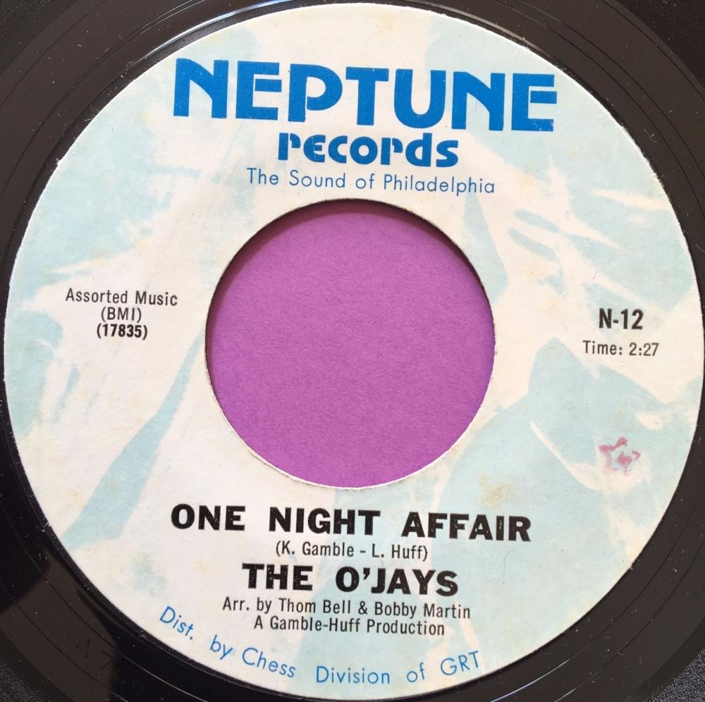 O'Jays-One night affair-Neptune E+