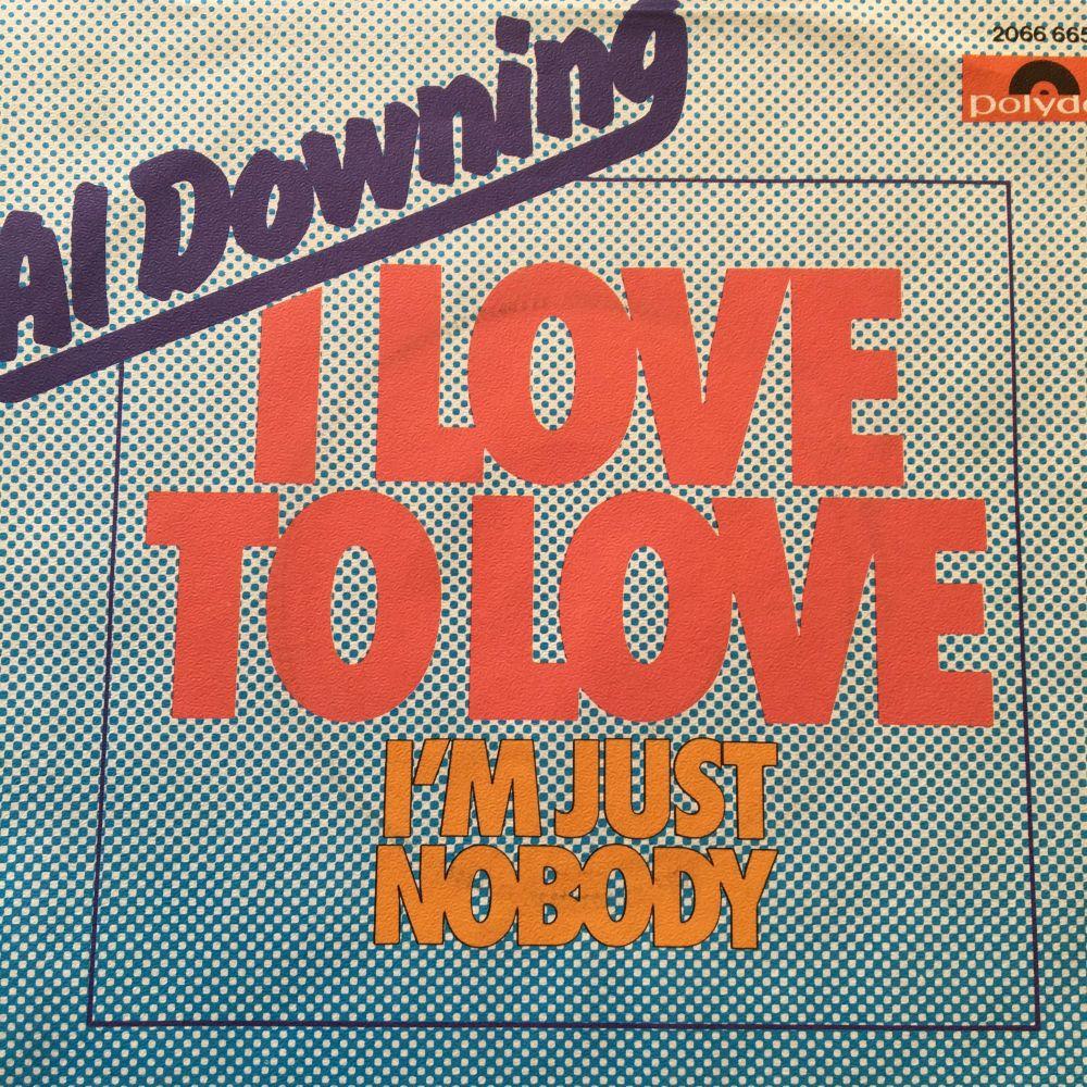 Al Downing-I'm somebody-German Polydor E+