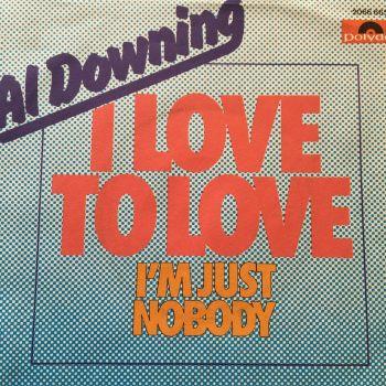 Al Downing-I'm nobody-German Polydor E+